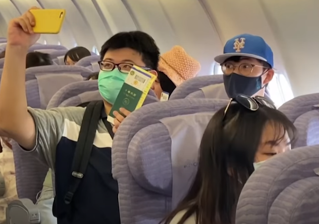 Taiwan Offers fake flights for travel starved tourist