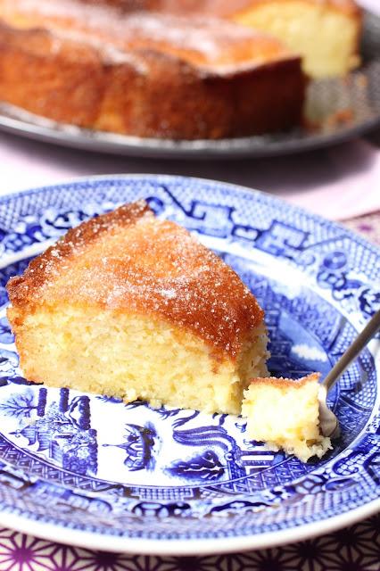 comment preparer drizzle cake anglais