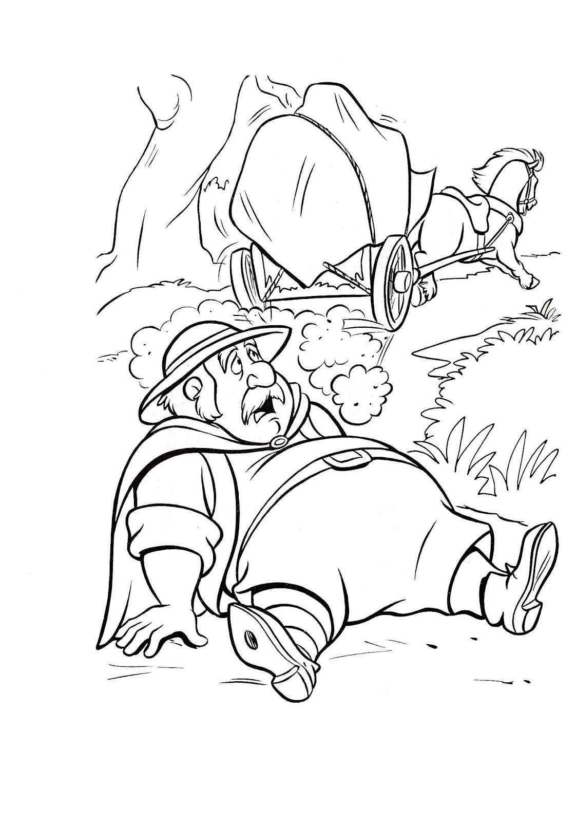 La Bella y la Bestia de Disney  Blog Dibujos para colorear de la