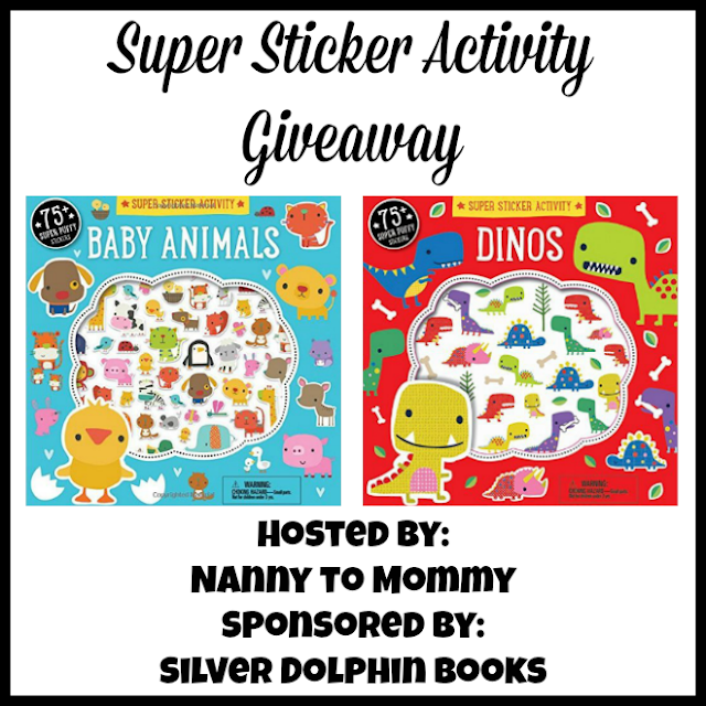 Super Sticker Fun from Silver Dolphin Books + Giveaway