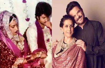 anil kapoor and sunita kapoor wedding pics