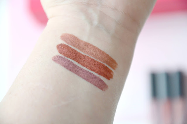 liquid matte huda beauty swatches