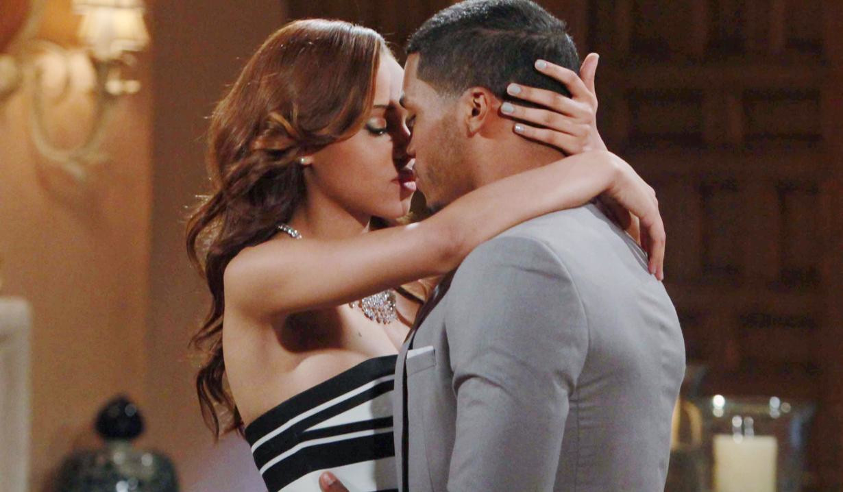Nicole avant forrester 2x daytime emmy nominee reign edwards and zende forester rome flynn are the premiere black couple on bold and the beautiful