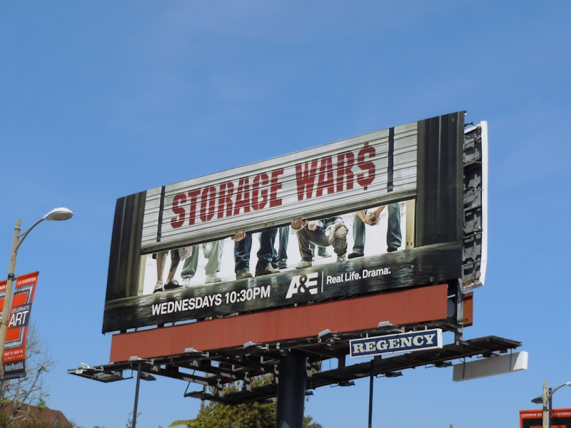 Storage Wars billboard