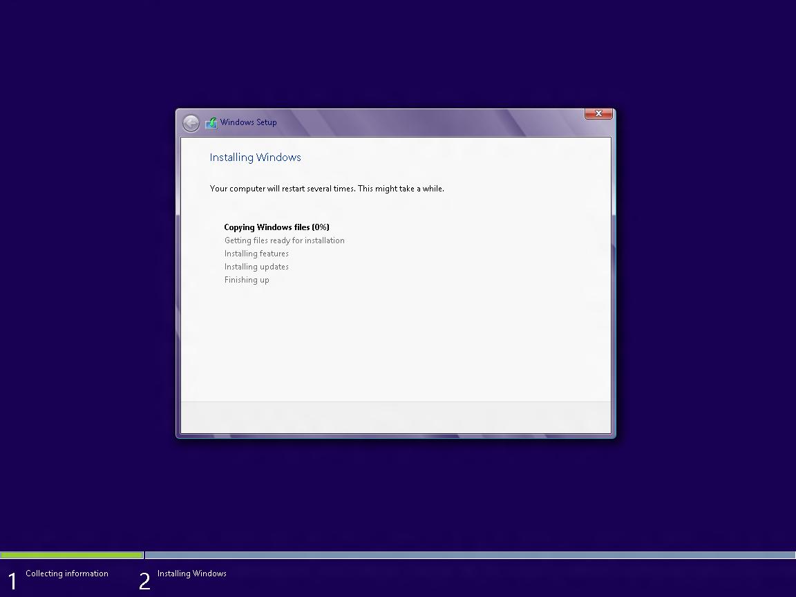windows 8 core rtm