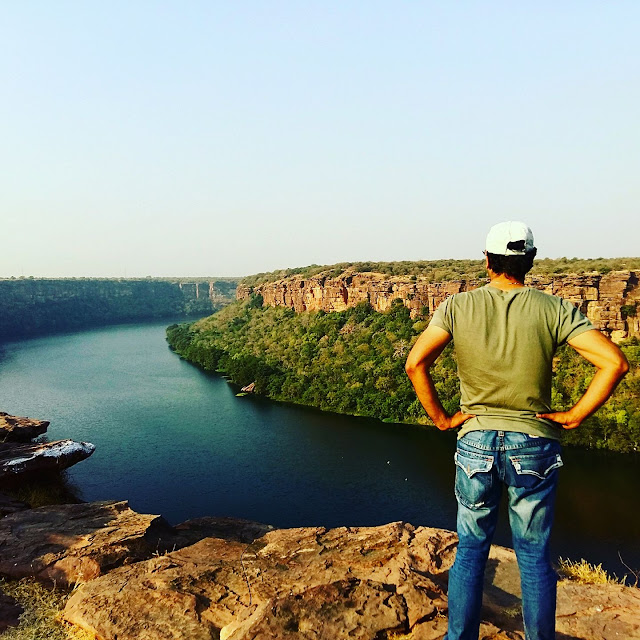 View of Chambal from Garadia Mahadev