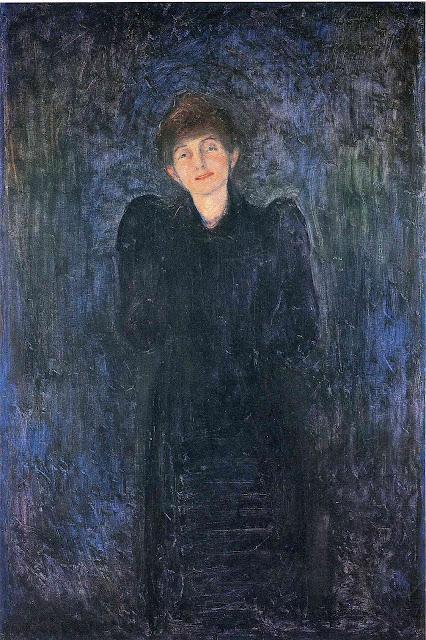 Эдвард Мунк - Дани Жюель-Пшебышевская. 1893