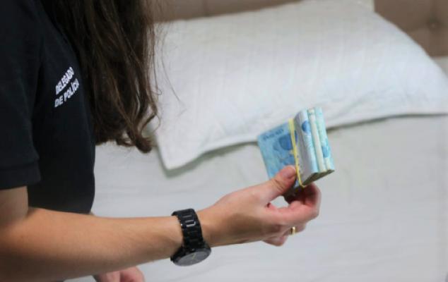 Polícia flagra traficante com R$ 24 mil em espécie e drogas na Chapada Diamantina