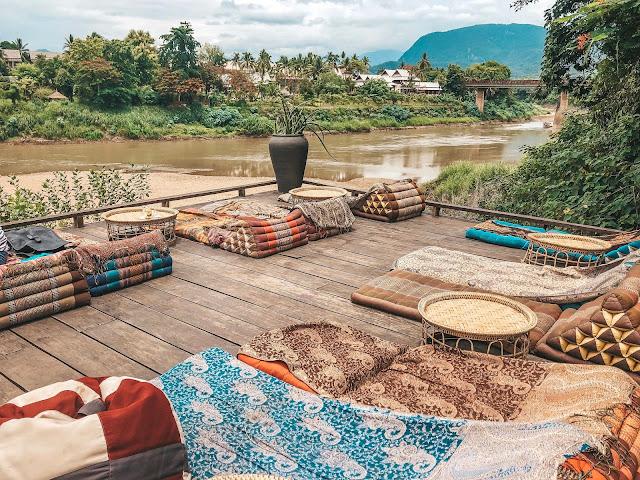 utopia view mekong river luang prabang laos