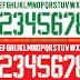 Download GRATIS Font Jersey Timnas 2016 format CorelDraw dan Ai