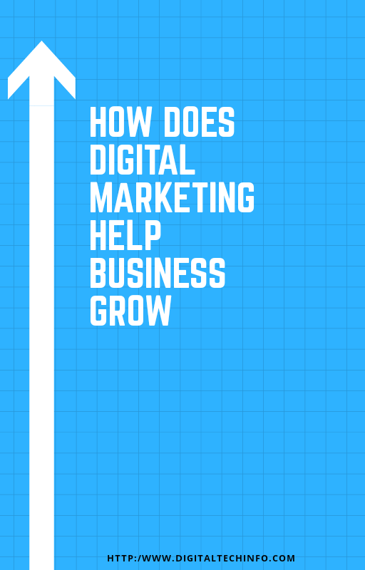 How Does Digital or Online Marketing Help Business Grow