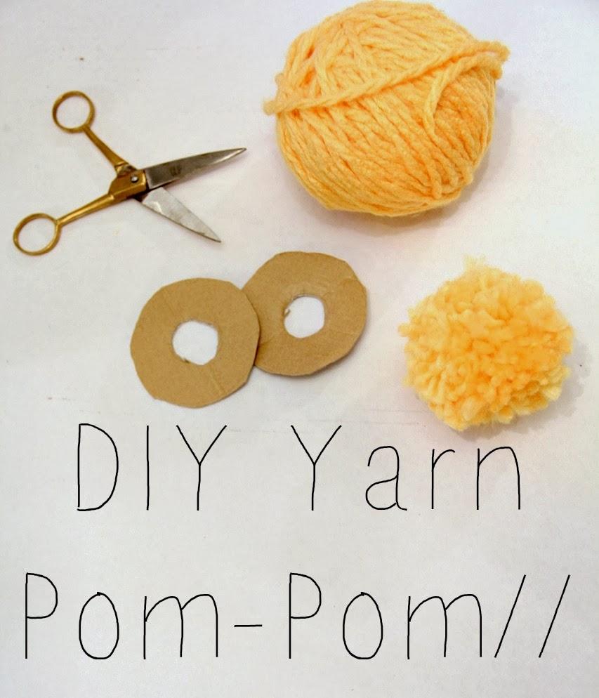 Henrietta & Clementine: DIY Yarn Pom-Pom