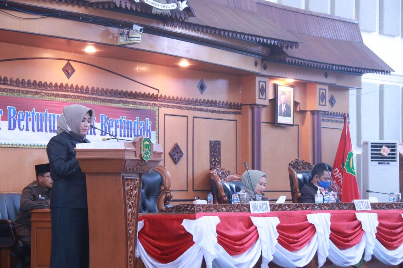 Walikota Tanjungpinang Usulkan Prioritas Ranperda Kota Tanjungpinang Tahap I
