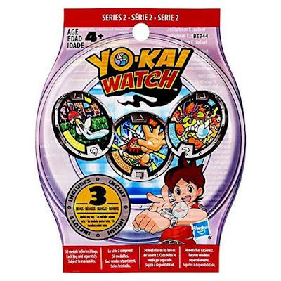 JUGUETES - YO-KAI WATCH  Serie 2 : Sobres sorpresa medallas  Hasbro 2016 | YOKAI | A partir de 4 años  Producto Oficial | Coleccionalas  Comprar en Amazon España