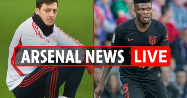 8am Arsenal news LIVE: Mesut Ozil transfer EXCLUSIVE, Partey advised against Gunners move, Guendouzi has bad 'attitude'