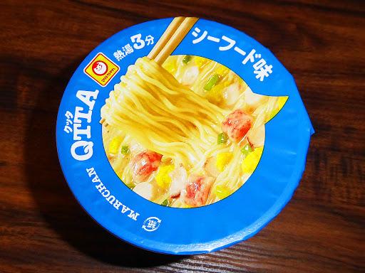 【MARUCHAN(マルちゃん)】QTTA(クッタ)シーフード味が美味しい!