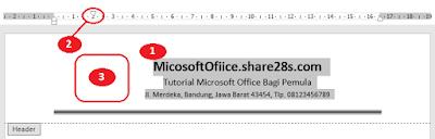 Cara Mudah Membuat Kop Surat di MS Word
