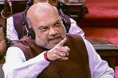 The Union Home Minister of the Government of India, Amit Shah