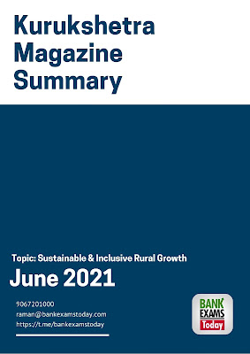 Kurukshetra Magazine Summary: June 2021