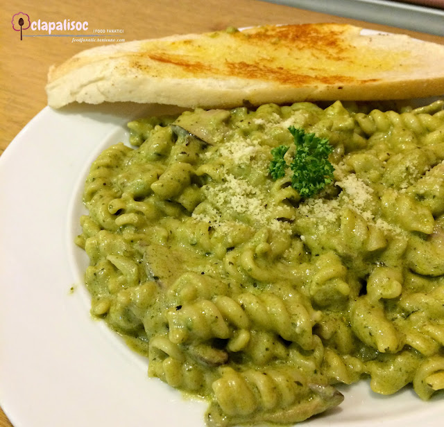 Creamy Pesto from Bunny Baker PH