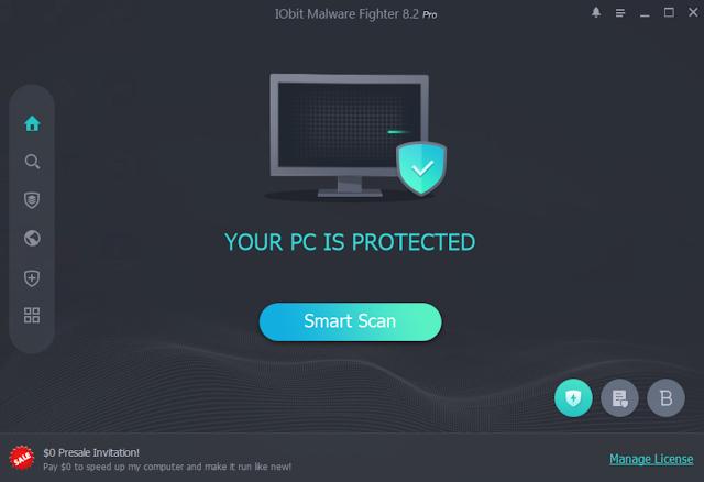 برنامج IObit Malware Fighter v8.2.0.691 بالسيريال