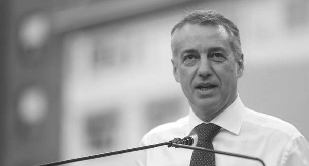 Iñigo Urkullu pide un Estado confederal que reconozca la nación vasca