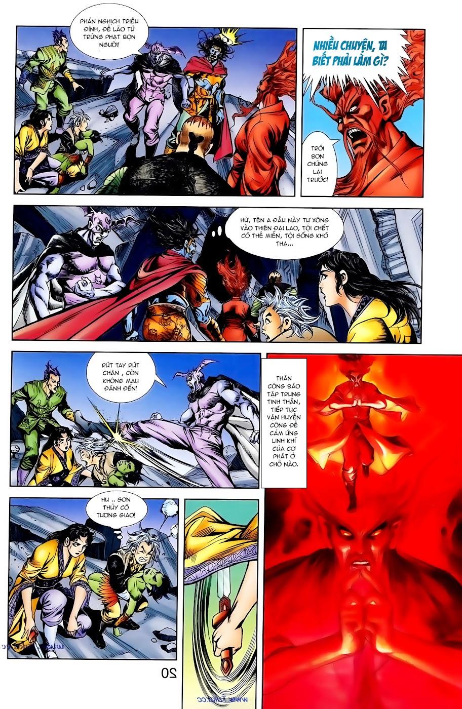 Cơ Phát Khai Chu Bản chapter 99 trang 14