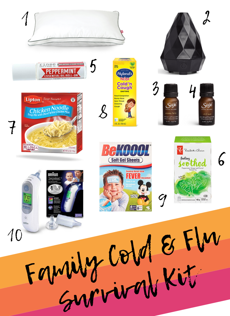 family cold and flu survival kit