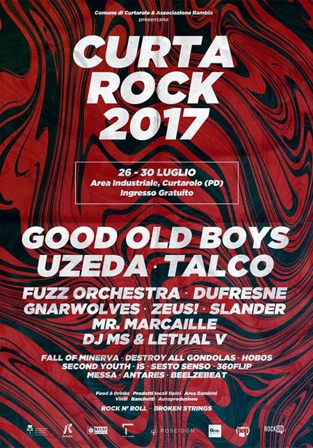 Locandina Curtarock Festival 2017