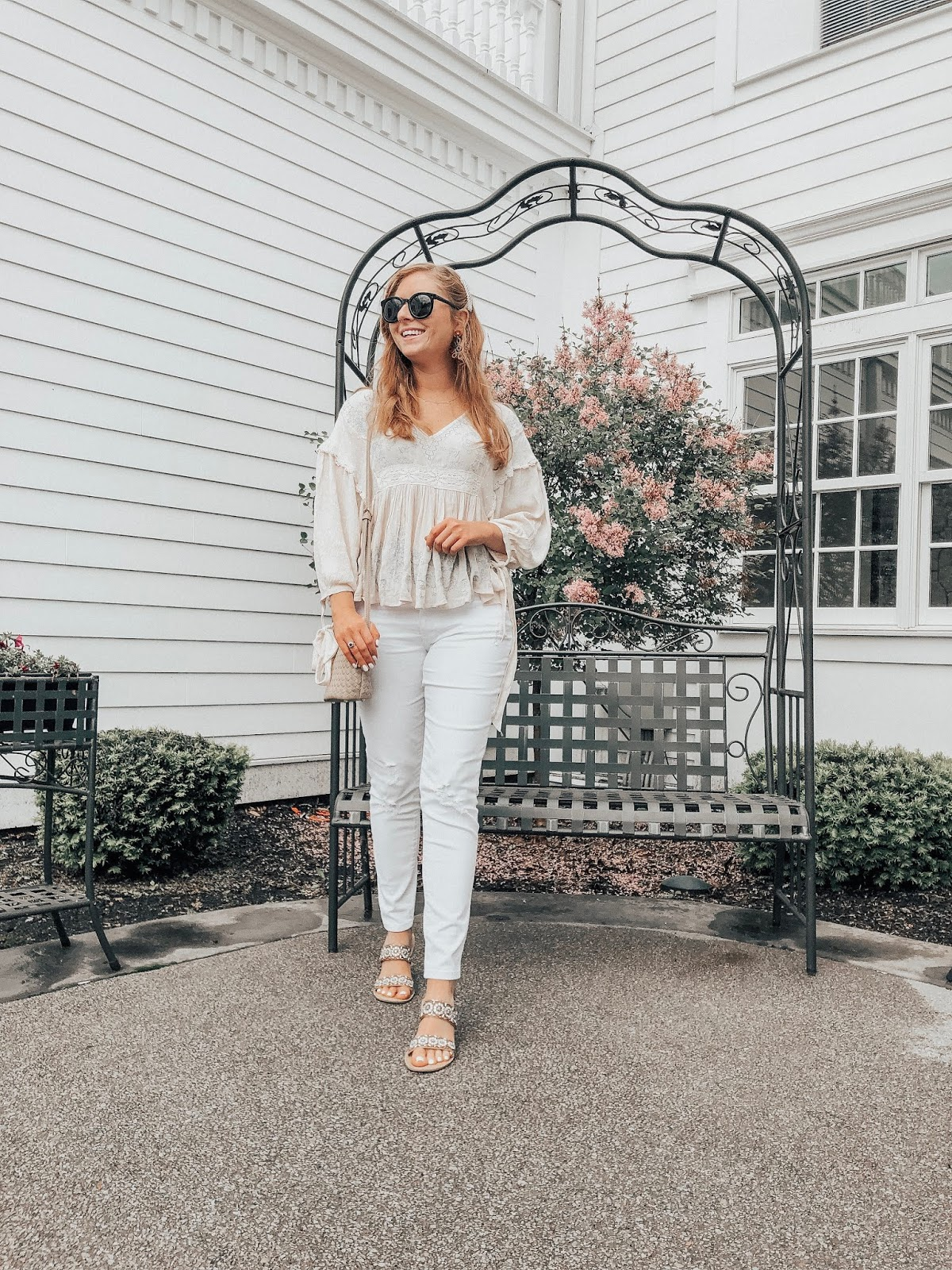 Affordable by Amanda | Easy Ways to Style White Jeans for Summer