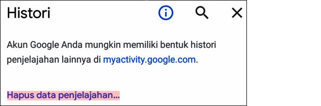 Cara Menghapus Cache di Google Chrome Android dan iOS