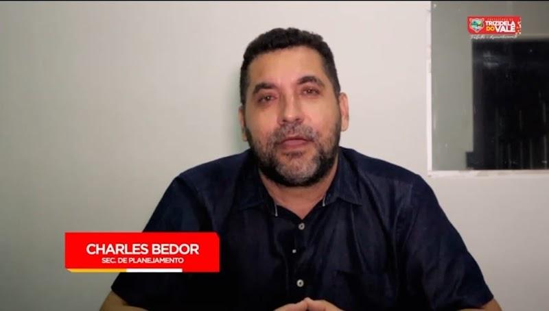 Charles Bedor comemora Trizidela do Vale no segundo lugar do ranking de transparência do TCE/MA