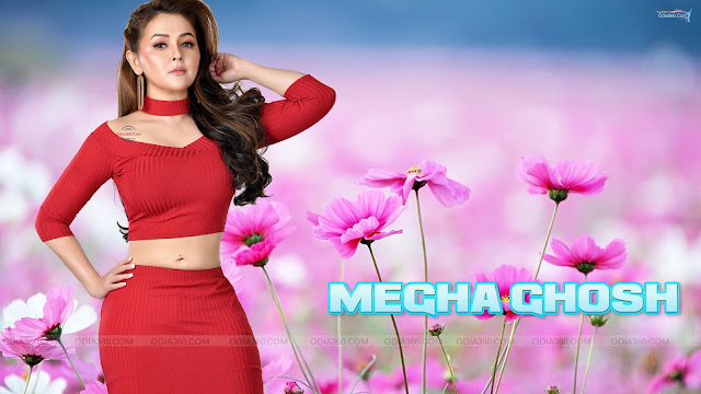 Hot Megha Ghosh Ollywood Actress HD Wallpaper Download