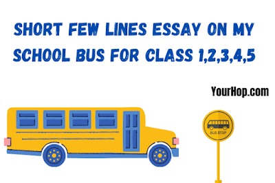 My School Bus Essay