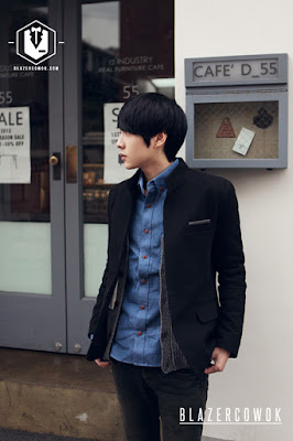 blazer cowok blazercowok.com jaket korean jas pria sk40 b
