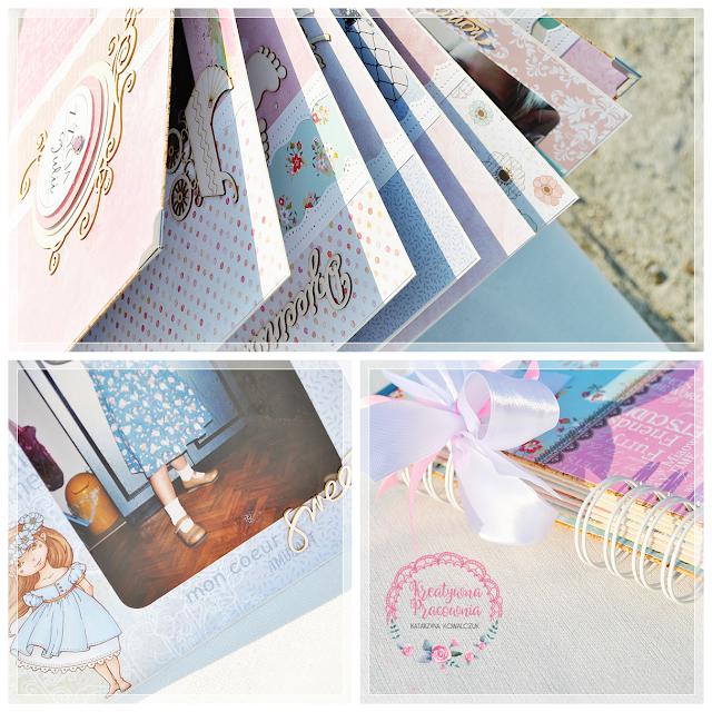 album urodzinowy, osiemnastka, handmade