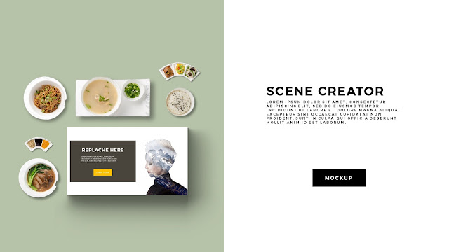 Free Infographic Food Scene Creator Powerpoint Template Slide 2