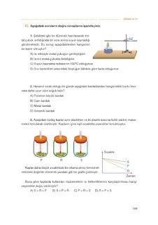 7. Sınıf Matematik Ders Kitabı Cevapları Koza Sayfa 189
