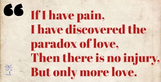 Why Love Hurts Quotes
