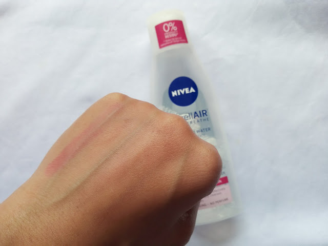 Review Nivea MicellAIR Skin Breathe For Dry/Sensitive Skin