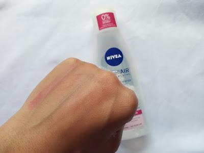 Review Nivea MicellAIR Skin Breathe For Dry/Sensitive Skin