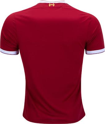 Liverpool Mens Home Jersey 2017-2018 Grade Original