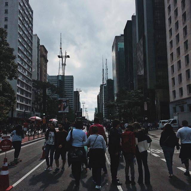 Avenida Paulista fechada aos domingos