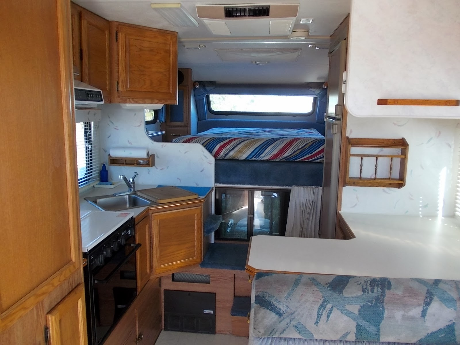 Pics Of Truck Camper Interior Because My Sister Is E Mail Attachment Impaired