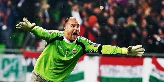 Király se tornou o jogador mais velho a atuar em uma Euro, e ajudou a Hungria a estrear vencendo