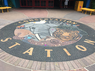 Conservation Station Entrance Tile Mosaic