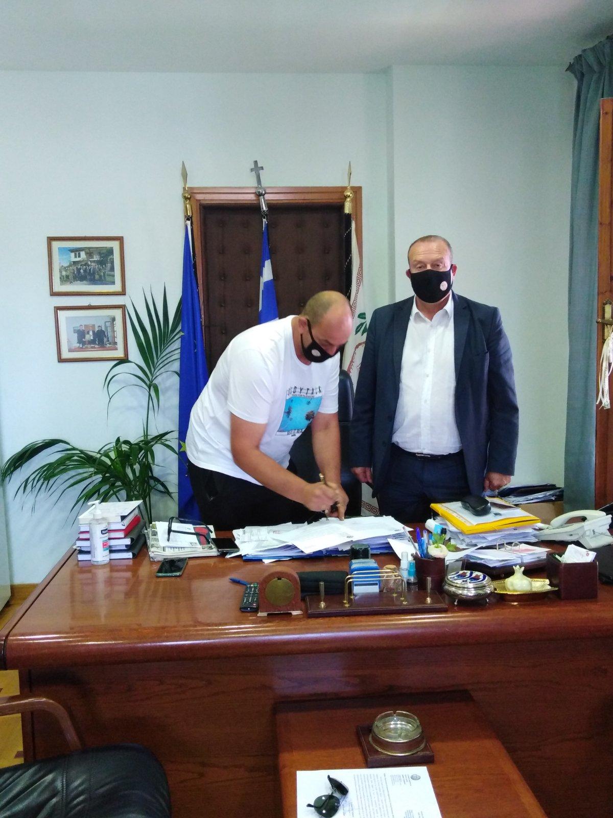Τόπειρος: Ανέλαβε καθήκοντα ο Πέτρος Ιωαννίδης
