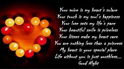 Pictures with good night phrases