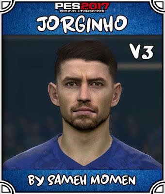 PES 2017 Jorginho Face by Sameh Momen
