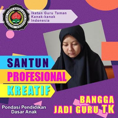 bingkai foto profil guru tk